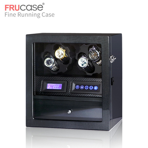 Image 3 - FRUCASE watch winder box watch display watch cabinet watch collector storage with LED touch screen display 4+5