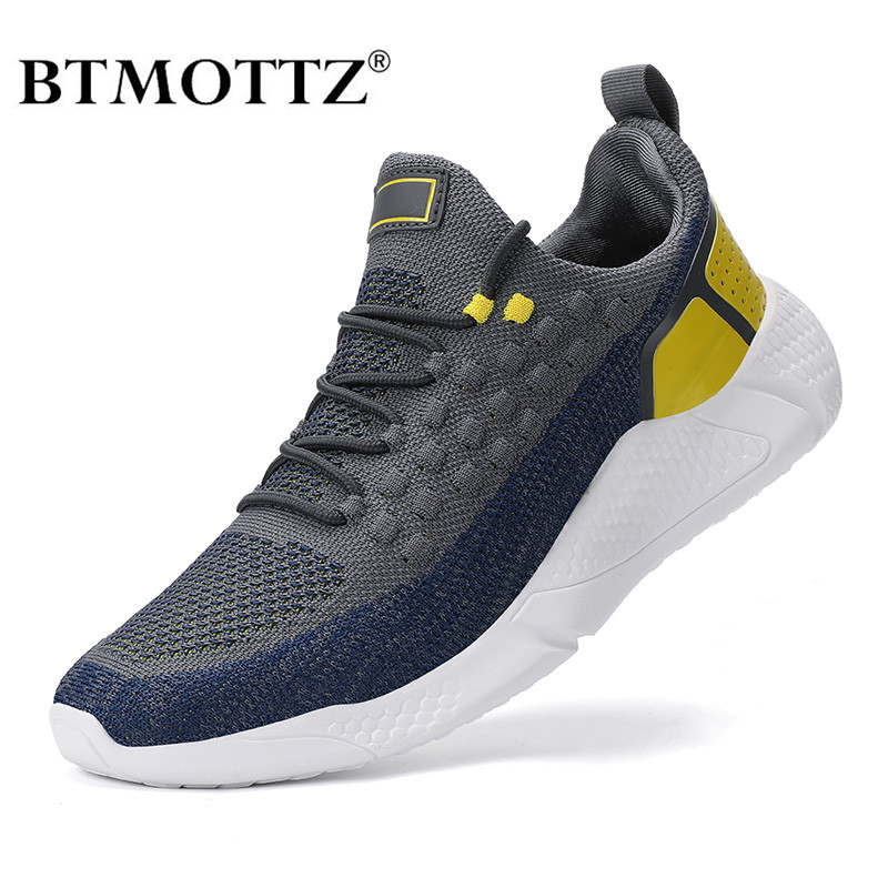 Mesh Men Sneakers Casual Shoes Lac-up Men Shoes Luxury Brand Lightweight Breathable Walking Jogging Sneakers Trainers Zapatillas