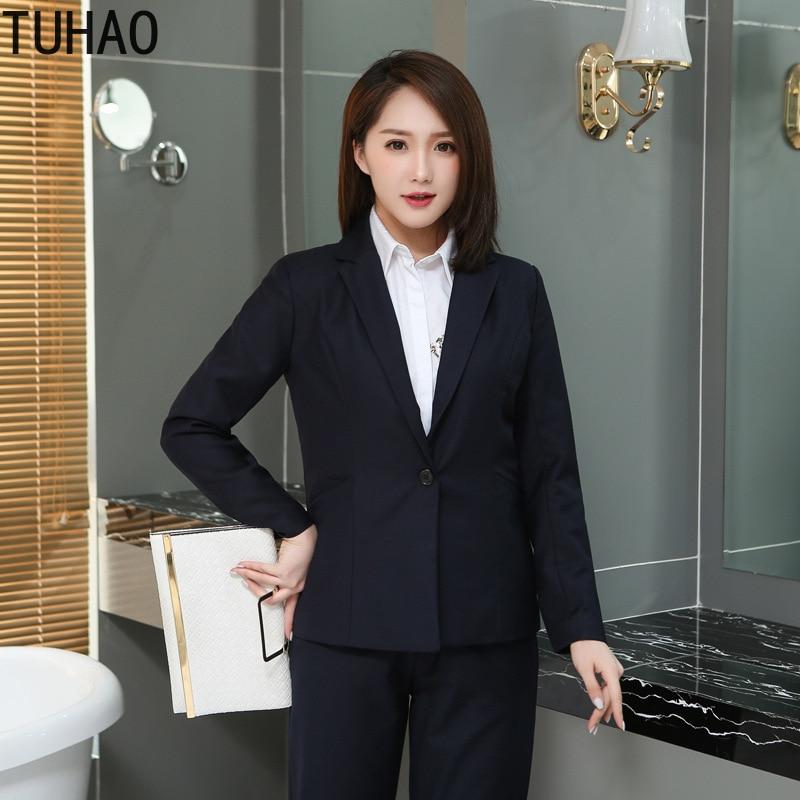 TUHAO AUTUMN Casual Blazer Women Basic OL Blazer Pockets Chic Tops Office Ladies Retro Suit Jackets Plus Size 9XL 8XL 7XL 6XL