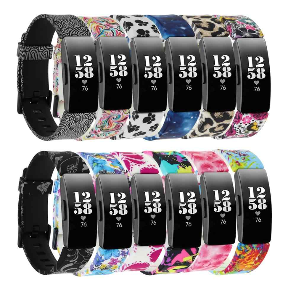 Baaletc Cute Replacement Accessory Band//Wristband Bracelet Strap Compatible Fitbit Flex 2 Fitness Tracker for Women One Size