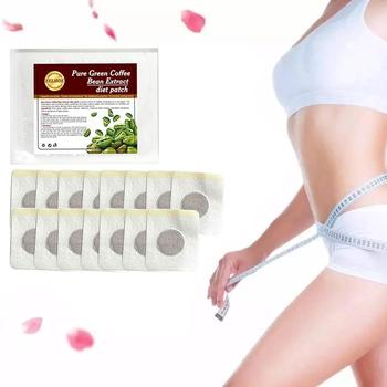Slimming Navel Sticker Slim Patch Weight Loss Burning Reduce Green Extracts Dry Appetite Mouth Coffee Fat Bean V0N7 image