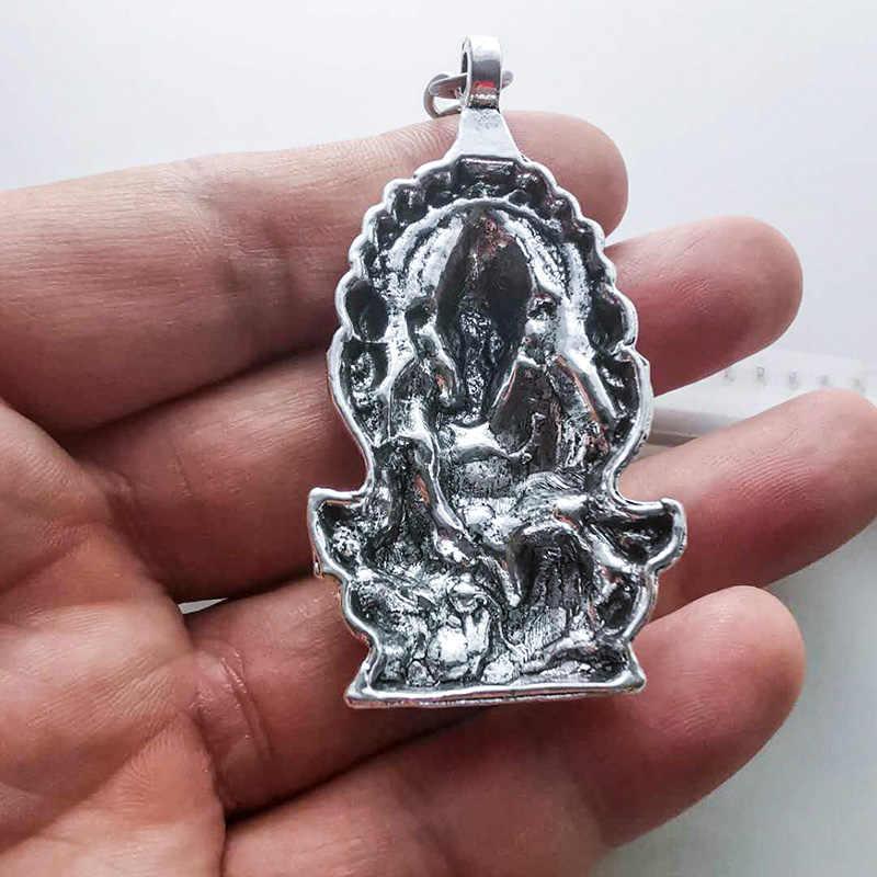 ใหม่แฟชั่นพวงกุญแจ Ganesha Charms พวงกุญแจผู้หญิงผู้ชายของขวัญคีย์โซ่ผู้ถือแหวนจี้ Keyring อินเดียพระพุทธรูปเครื่องประดับ laveros