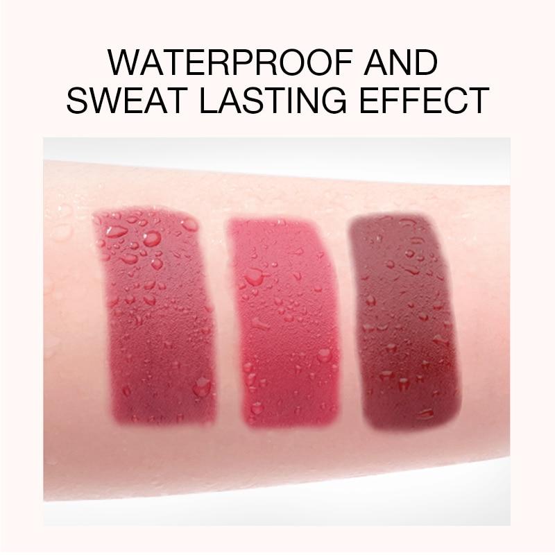 O.TWO.O Liquid Lipstick Matte Lip Gloss Cosmetic Lightweight Lip Glaze Long Lasting Lip Tint  Waterproof 12 Color Lips Makeup 4