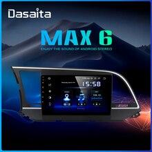 """Dasaita 9 """"IPS カーステレオマルチメディアナビゲーションアンドロイド 9.0 現代エラントラ 2016 Bluetooth DSP HDMI 64 ギガバイト ROM"""