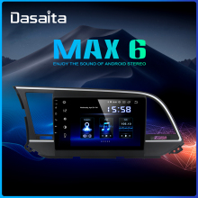 "Dasaita 9"" IPS Car Stereo Multimedia Navigation Android 9.0 for Hyundai Elantra Radio 2016 Bluetooth DSP HDMI 64GB ROM"
