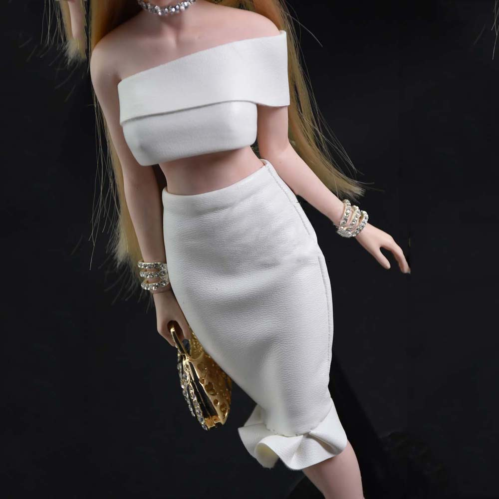 1//6th Scale Female Gift Maid Clothes Outfit for 12inch Phicen Kumik Figures