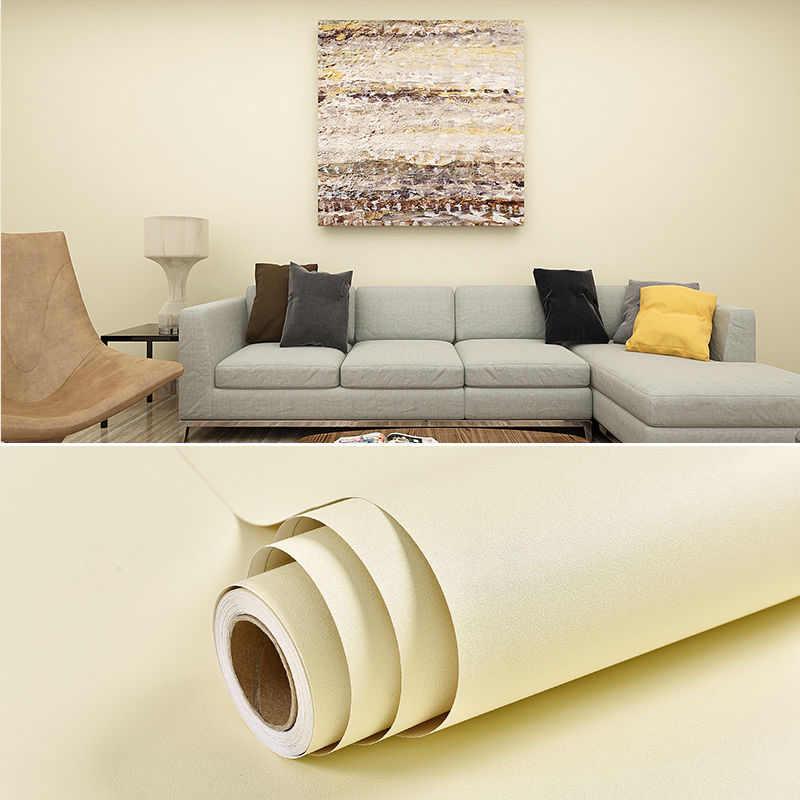 10M Frosted DIY película decorativa PVC papel de pared autoadhesivo muebles de renovación pegatinas armario de cocina papel pintado impermeable