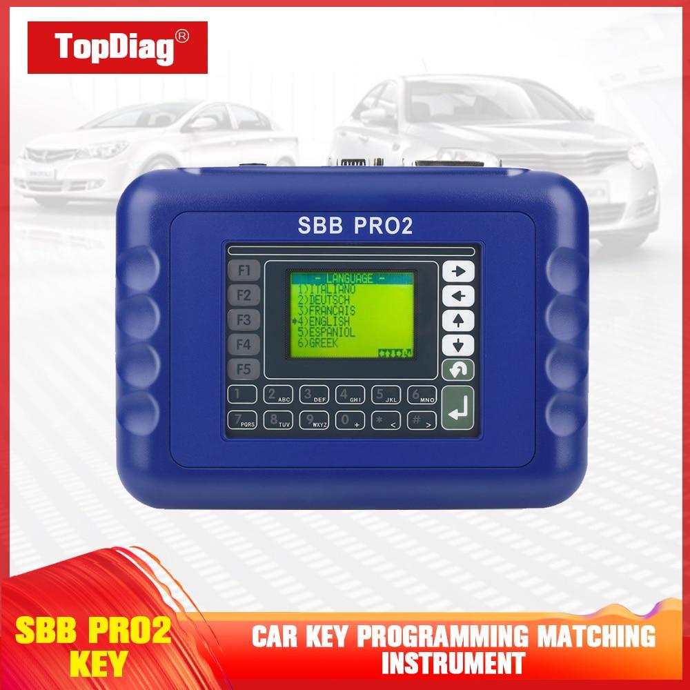 Universal Auto Key Programmer Maintenance Reader Scanner V48.99 SBB Pro2 Cars Coder Eader Car Accessories Key Programmer Tool