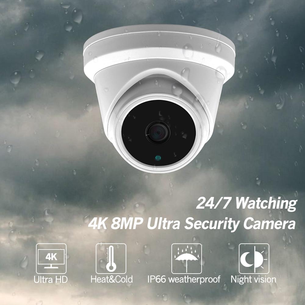 Новый 16-канальный комплект системы видеонаблюдения, ультра 8-мегапиксельная наружная камера безопасности POE с Hikvision 8 POE NVR DS-7616NI-I2/16 P комплект...