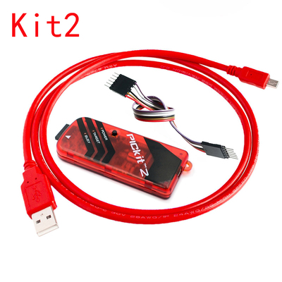 1pcs / Lot Pic Kit2 / 3 / 3.5 Offline Programmer / Emulator / Downloader / Burn Writer Kit3.5+