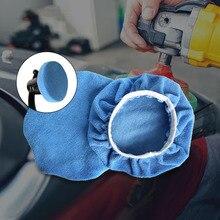 8 Pçs/set 5 6 Polegada Pad Para Polidor de Carro Polimento Enceramento Carro De Microfibra De Pelúcia Conjunto Depilação Ferramentas de Cuidados de Lavagem de Carro Auto Acessórios