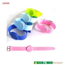 Adult Child kids Baby 125khz 13.56mhz RFID Silicone Wristband tag Contactless IC Card ID waterproof wrist watch tag rfid