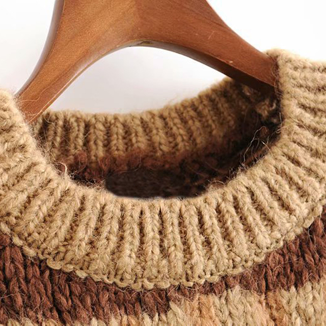 Vintage Style Knitted Sweater 4