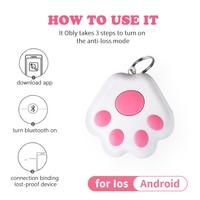1 pz Pet Smart GPS Tracker Mini localizzatore anti-perso Smart Activity Tracker per Pet Dog Cat Kids Car Wallet Key iphone xiaomi