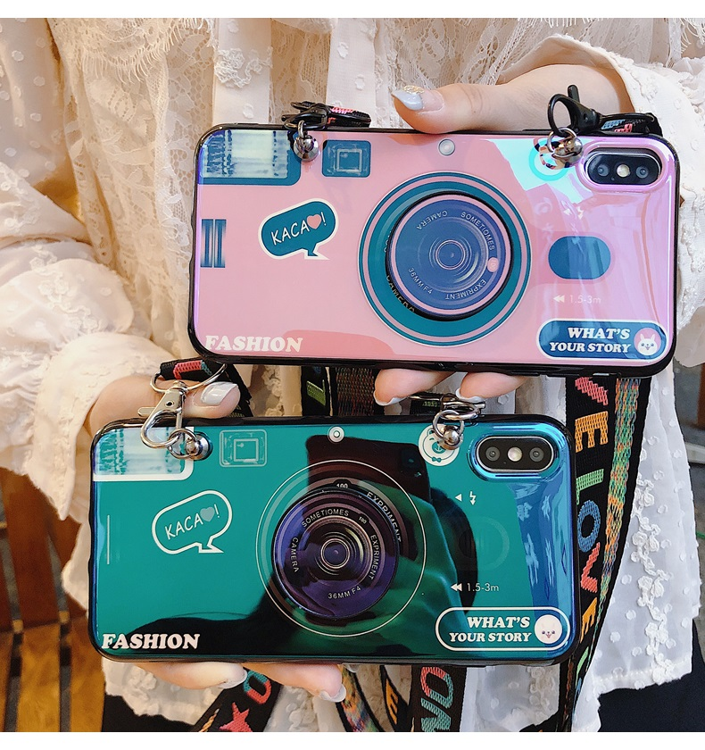 Blu-Ray Camera Pattern Phone Case For Xiaomi Redmi Note 5/6/7/8/10 Pro/4X/5A Cases With Cover For Redmi 8A 7A 6A 5A 4X K20 Pro
