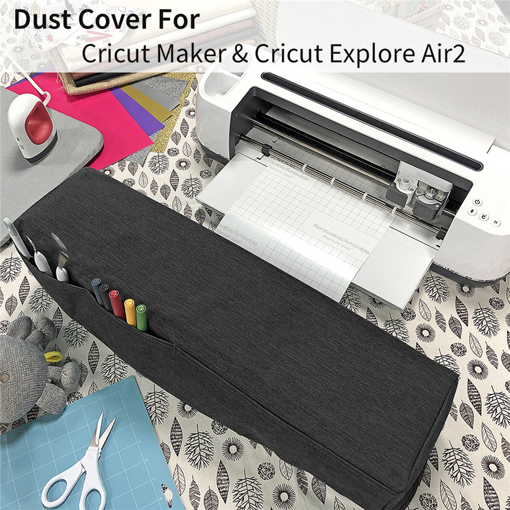 Dust Cover Scratch Resistant Case For Cricut Maker For Cricut Explore Air2 Cutting Machine Accessories Dustproof Protective Case