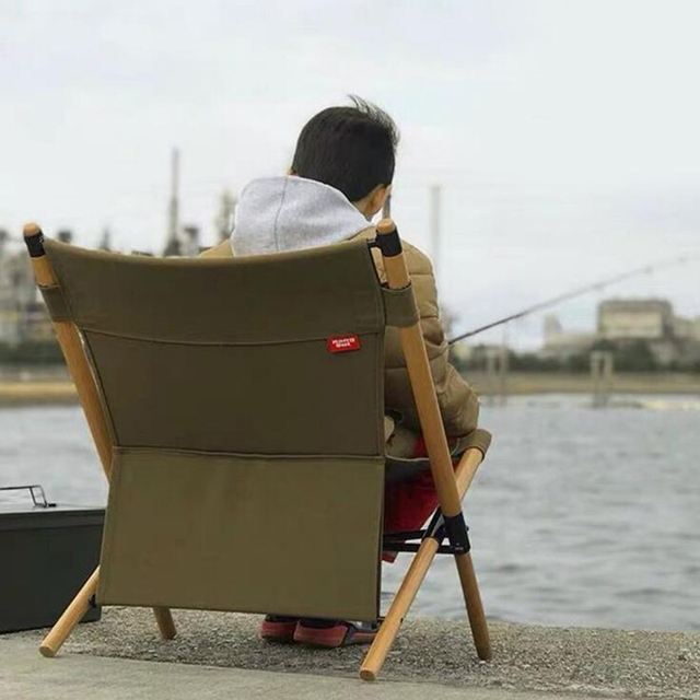 Wooden Foldable Outdoor Chair 1