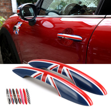 Car Exterior handle protection cover sticker For BMW MINI COOPER F54 F55 F56 F57 F60 Car styling decoration accessories decals цена 2017