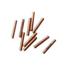 10 pz di alta qualità saldatura a punti Pin saldatura fissa aghi di rame adatto per HB-70B saldatore a punti punte della penna sostituzione Pin di riparazione
