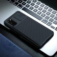Étui Nillkin CamShield mince coulissant de protection de l'appareil photo, coque avec ventilateur pour téléphone Samsung Galaxy S20 FE, S20E, édition 5G