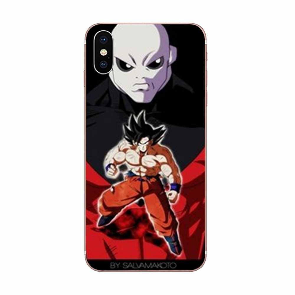 Teléfono TPU suave cubre caso de dibujos animados de Super Dragon Ball Z hijo de Goku Jiren para Xiaomi Redmi nota 2 3 3S 4 4A 4X4 5X5 5A 6 6A Pro Plus