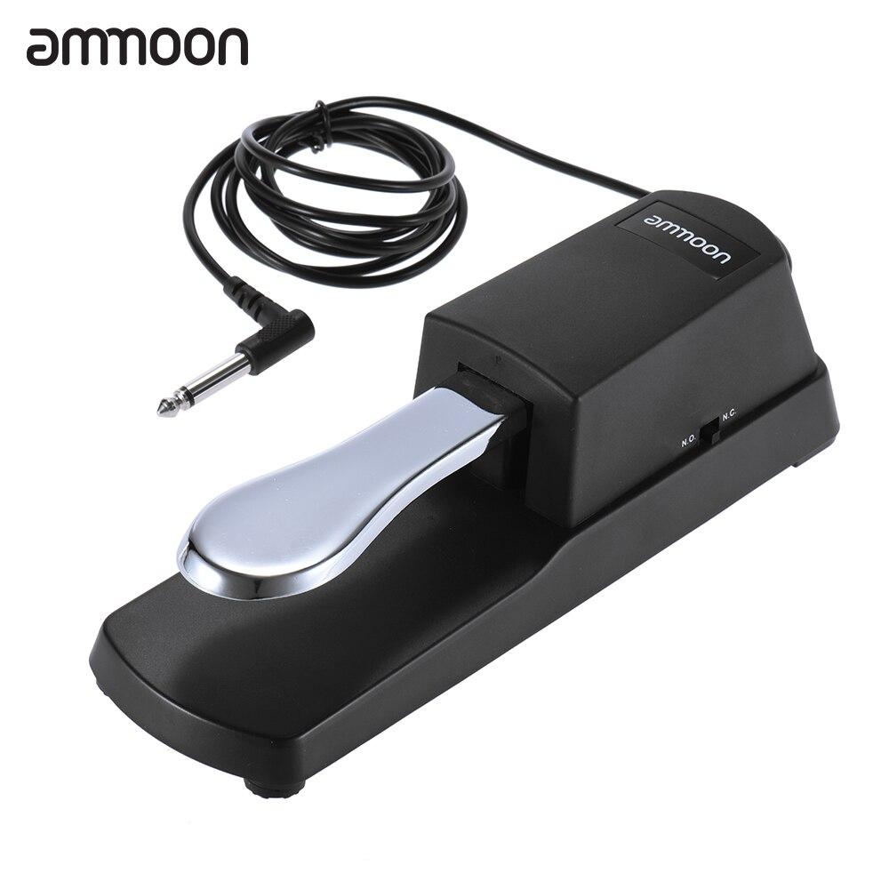 Клавиатура для пианино Ammoon для Casio Yamaha Roland клавиатура для электрического пианино практичная поддержка амортизирующая педаль Запчасти для п...