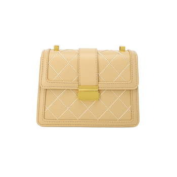 Discount new 2020 Fashion Vintage Bag Tote For Women Small Yellow Luxury Brand Female Shopping Designer Shoulder Messenger Bag