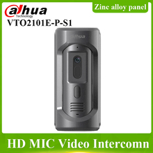 Dahua VTO2101E-P-S1 IP вилла открытая станция HD CMOS камера цинковый сплав панель IP65 1/2.7 2MP CMOS датчик изображения система внутренней связи