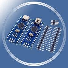 NANO V3.0 3,0 CH340 контроллер клеммный адаптер плата расширения мини Type-C простая удлинительная пластина для Arduino AVR ATMEGA328P