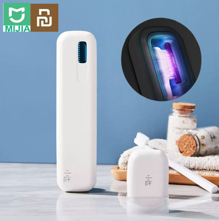 Youpin xiaoda Travel Ultraviolet Disinfection USB Rechargeable Toothbrush UVC Sterilizer Box XIAMI UV Toothbrush Box Sterilizer image