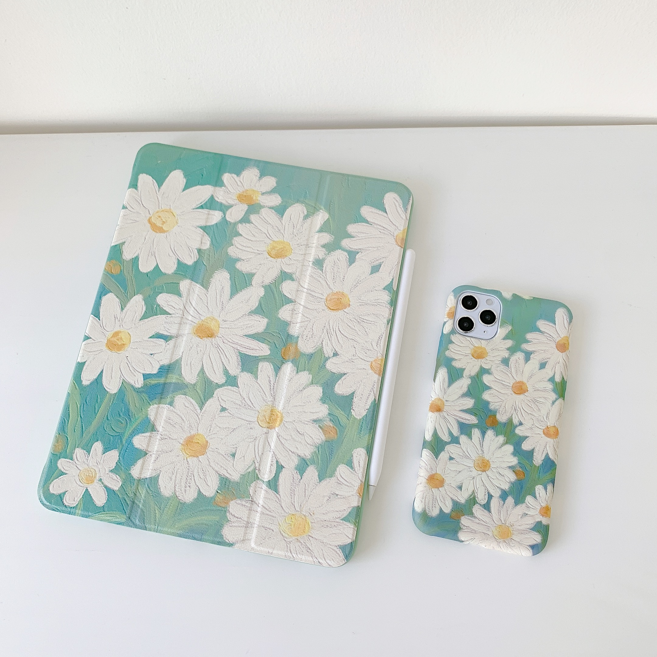 Daisy Flower  Case For Ipad Pro 2020 Air 3 Back Cover 5