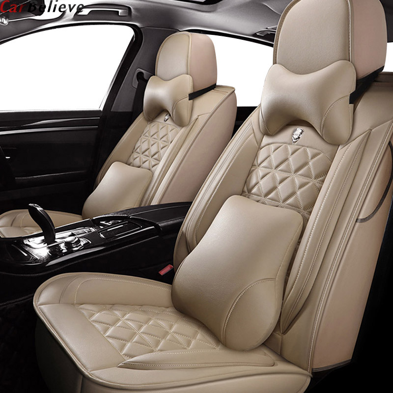 Car Believe leather car seat cover For <font><b>suzuki</b></font> baleno jimny <font><b>celerio</b></font> liana ignis grand vitara swift ciaz wagon <font><b>accessories</b></font> seat image