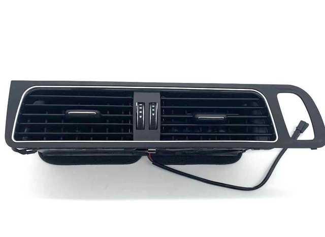 المركز الأصلي لأودي A4L Q5 التحكم المركزي منفذ تكييف الهواء لوحة أداة A/C مصبغة تنفيس العنقودية