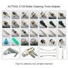 Original AUTOOL C100 Car Fuel Injectore Cleaner Non-dismantle Bottle Gasoline Fuels Injector Cleaning Testing System Wholesale promo