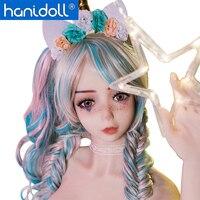 Hanidoll Silicone Sex Dolls 158cm TPE Love Doll Full Sized Realistic Oral Vagina Anal Breast Masturbator Sex doll Metal Skeleton