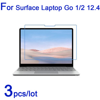 3pcs for Microsoft Surface Laptop Go 1/2 12.4 Laptop Screen Protectors,Clear/Matte/Nano Anti-Explosion LCD Guard Protective Film