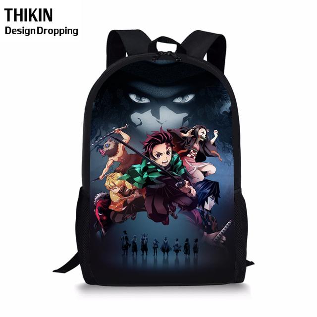 Demon Slayer Backpack for Teenagers