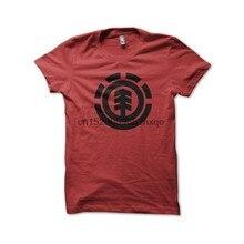 Camiseta masculina camisa de skate marcas camiseta vermelha