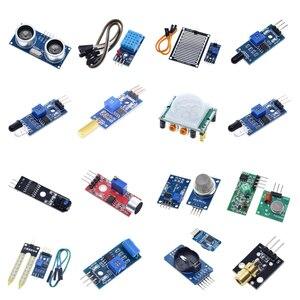 TZT Raspberry pi 2 3 the sensor module package HC-SR04 501 DHT11 DS3231 KY-008 Sound Rain Soil sensor for arduino kit