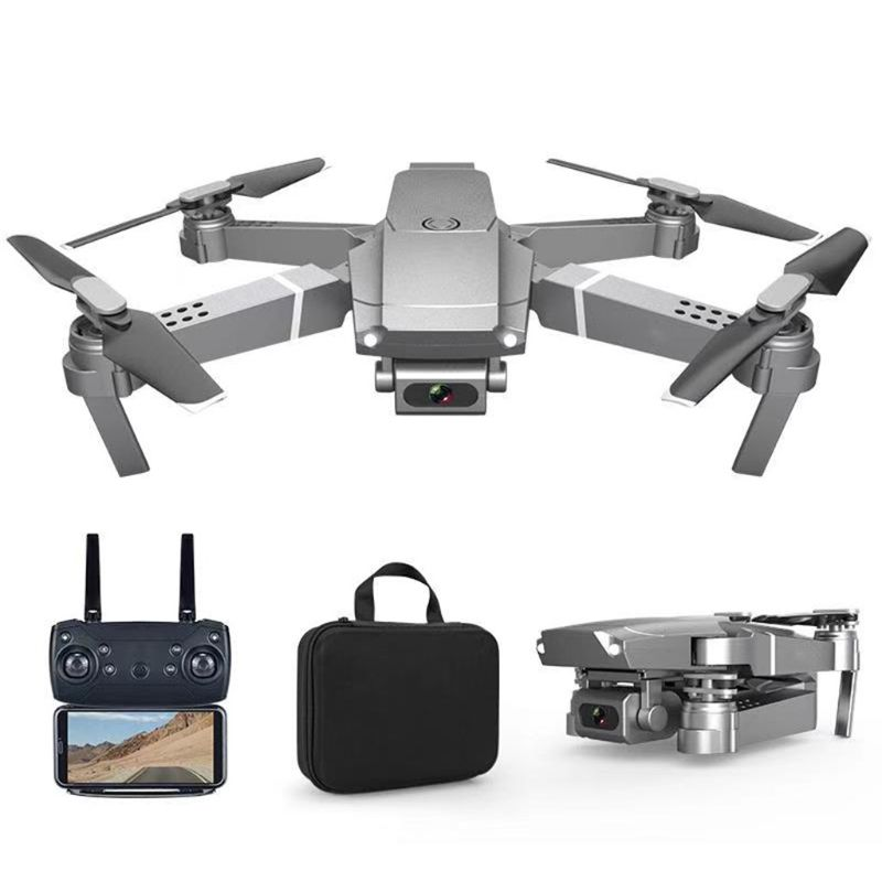 E68 WIFI FPV Mini Drone Wide Angle 4K 1080P 720P Camera High Hold Mode RC Foldable Quadcopter Gift Toys