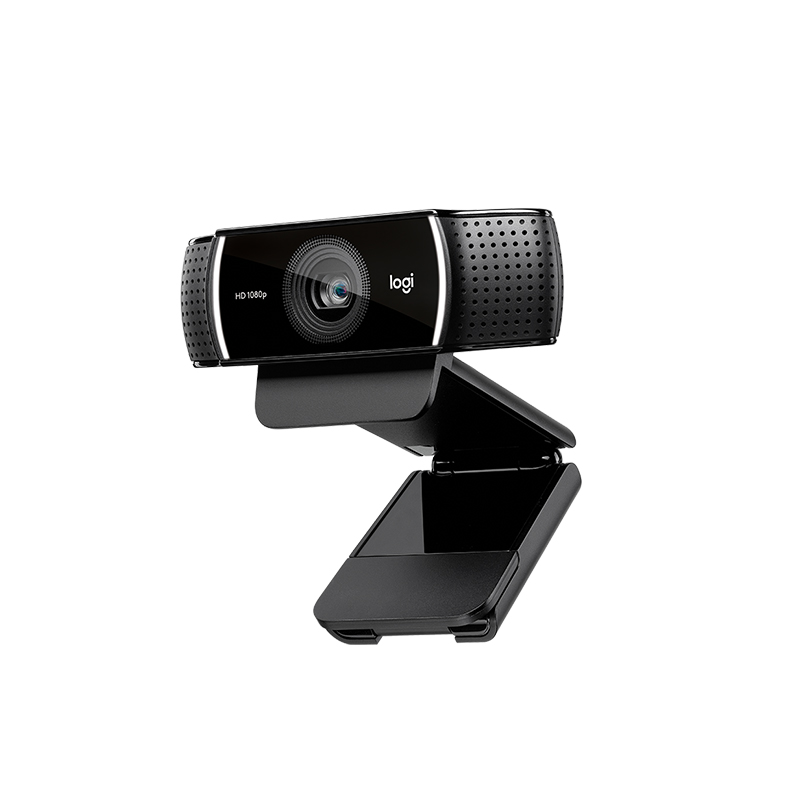 Original Logitech C922 Pro Serious Streaming Webcam with Full 1080p at 30fps or Hyper-Fast HD 720P at 60fps Streamcam 2