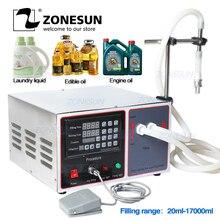 ZONESUN GZ GFK17B Semi Automatic Filling Machine Laundry detergent  Juice Milk Water Liquid Filling Machine