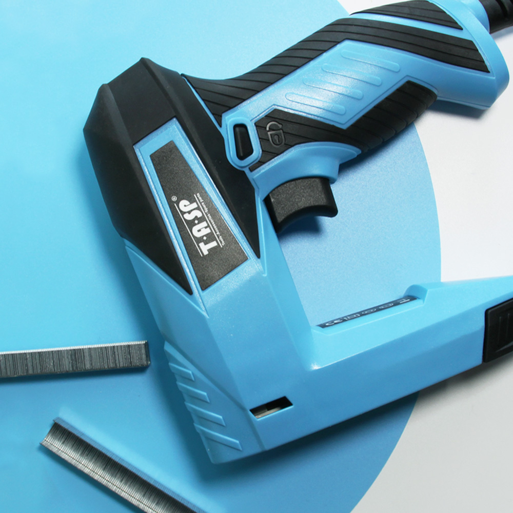 Tools : TASP 230V Electric Stapler and Nailer Furniture Staples  amp  Nails gun for Home Carpentry Construction Nailer Woodworking Tools