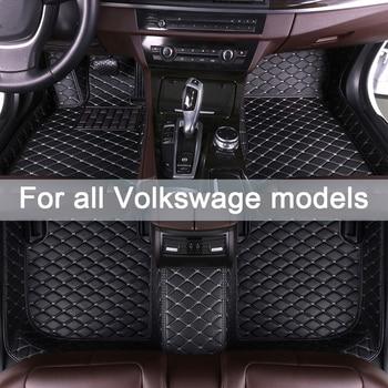 MIDOON Car floor mats for Volkswagen EOS UP Caravelle sharan Scirocco Beetle VARIANT Phaeton Multivan Magotan Magotan 2000-2018