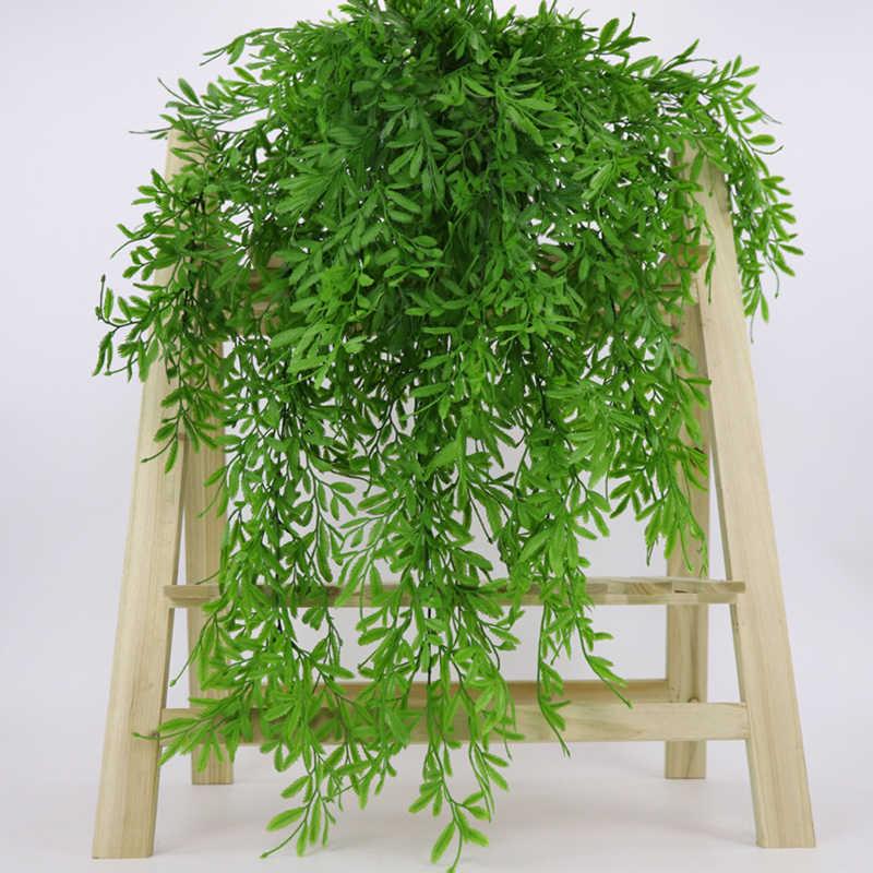 Fleurs artificielles plantes tenture murale vigne verdure guirlande Faux saule rotin maison jardin décoration de mariage
