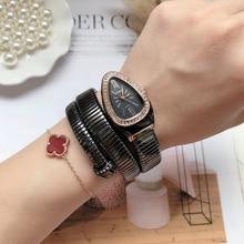 women's watches top brand luxury snake bracelet wom