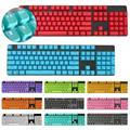 104 шт./компл. PBT универсальные колпачки для клавиш с подсветкой для механической клавиатуры Cherry Fashion PBT Keycap 2020