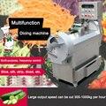 300-1000 кг/ч Коммерческая VVVF автоматическая овощерезка многофункциональная машина для резки Электрический Нож для овощей 220 В/380 в кВт