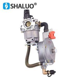 Image 5 - high quality LPG Carburetor 168 dual fuel LPG NG conversion kit for 2KW 3KW 168F 170F Gasoline Engine Generator Carburetor