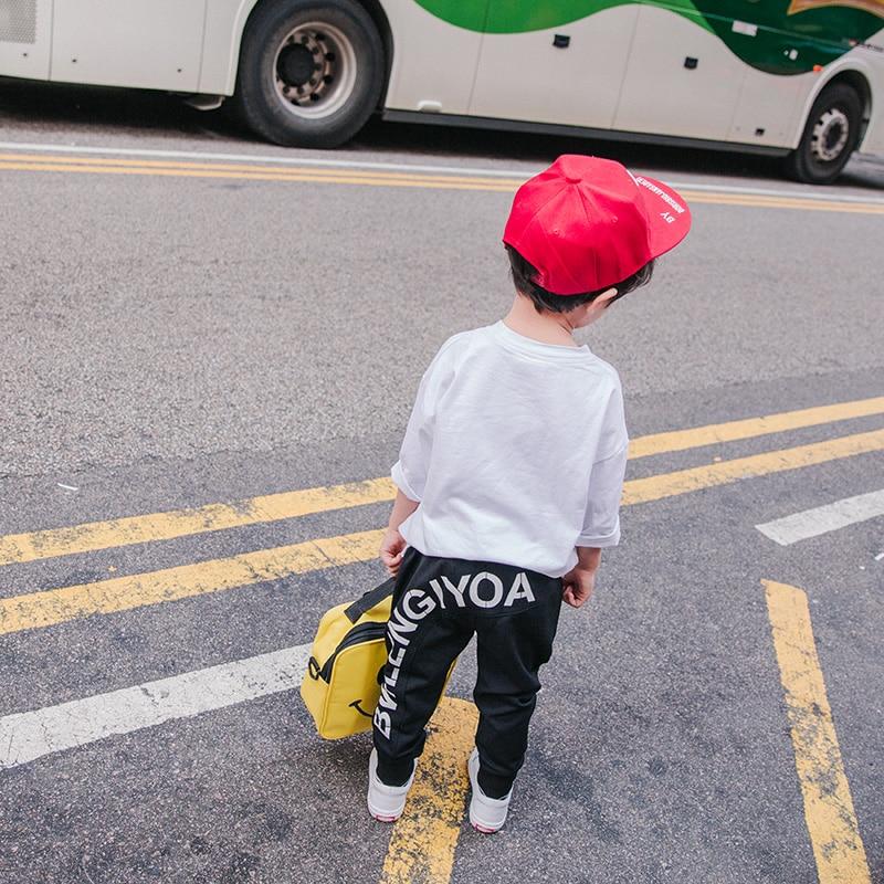 Original Design Spring Models Pants dan ku 2021 New Children's Clothing Korean Version of the  Sports Pants Male Trousers 4